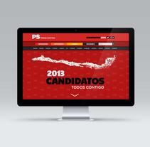Partido Socialista. Un proyecto de Diseño, Diseño gráfico, Diseño Web y Desarrollo Web de Julio Valdés Boccardo - 21-07-2014
