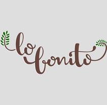 Lo Bonito Branding. Um projeto de Design de Alba López Martín         - 01.08.2014