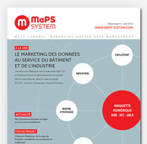 MaPS System newsmag. A Editorial Design project by Daniel Rico         - 31.05.2012