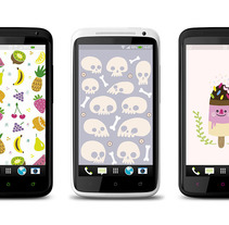 Wallpapers. A Design, Illustration&Interactive Design project by Alejandra Morenilla         - 03.08.2014
