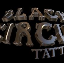 Diseño logo 3D - Tienda tattoo de Tenerife. Un proyecto de Diseño, 3D, Br, ing e Identidad y Gestión del diseño de Tano Lombardo - 17-07-2014
