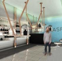 Perfumería Aspre. A Design, 3D, Interior Architecture&Interior Design project by Anna Cubillo Urpí         - 07.08.2014