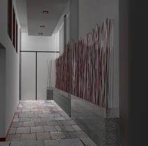 Remodelación Filarmonica Oviedo. Um projeto de Arquitetura de interiores de Paula Méndez Rodríguez         - 07.08.2014