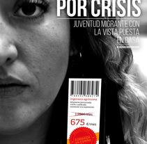 Campaña Estatal para el Consejo de la Juventud de España. Um projeto de Design gráfico de Adrián Mozas Monterrubio         - 11.08.2014