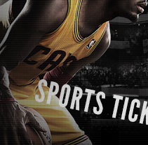 Tickets site website design (USA). A Web Design project by Six Design - 11-08-2014