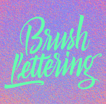 Brush Lettering. A Br, ing, Identit, Graphic Design, T, and pograph project by Bogidar Mascareñas Vizcaíno         - 15.08.2014
