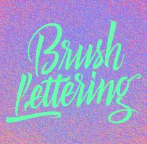 Brush Lettering. Un proyecto de Br, ing e Identidad, Diseño gráfico y Tipografía de Bogidar Mascareñas Vizcaíno         - 15.08.2014