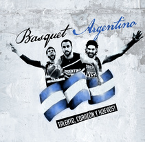 Selección Argentina de Basquet. A Graphic Design project by Christian Martinez         - 18.08.2014