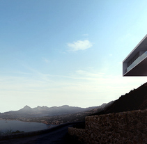 House on the Cliff based on Fran Silvestre. A Architecture project by Lemons Bucket CB  - 21-08-2014