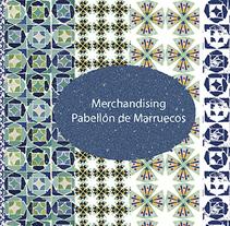 Pattern inspirado en el pabellón de Marruecos (Sevilla). Un proyecto de Diseño, Ilustración y Moda de Rosa Brualla         - 25.08.2014