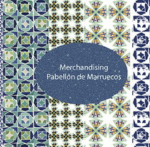 Pattern inspirado en el pabellón de Marruecos (Sevilla). A Design, Illustration, and Fashion project by Rosa Brualla         - 25.08.2014