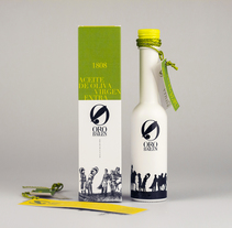 PACKAGING BOTELLA DE ACEITE. A Design, Graphic Design, and Packaging project by José T. Alvarez         - 25.08.2014