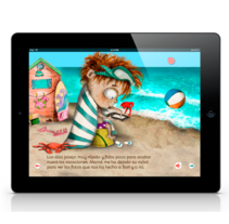 """Suri y yo"" App. A Illustration, Editorial Design&Interactive Design project by Merce Godas Spinbooks - 22-07-2013"