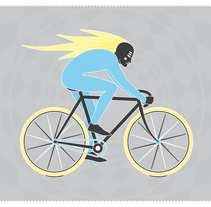 The Rider. A Illustration, and Graphic Design project by Sebastià  Gayà Arbona - Jul 15 2014 12:00 AM