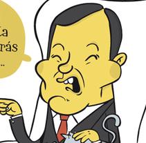 Humor gráfico. Um projeto de Ilustração de Raúl Salazar - 02-09-2014