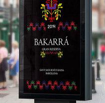 Bakarrá. Un proyecto de Br, ing e Identidad, Diseño gráfico, Packaging y Diseño de producto de Roberto Arróniz Velázquez - Miércoles, 10 de septiembre de 2014 00:00:00 +0200