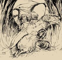 Ubi Est Qui Pluant?. Un proyecto de Ilustración y Bellas Artes de AlabamaKiller Marta Castilla         - 06.07.2014