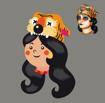 Tattoo . A Design, Character Design&Illustration project by El niño Vudu  - Sep 16 2014 12:00 AM