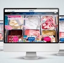 Diseño Web - La Ibense. A Photograph, Graphic Design, Web Design, and Web Development project by ERBA         - 17.09.2014