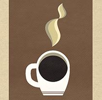 Coffee Poster. Un proyecto de Diseño, Ilustración y Diseño gráfico de Adolfo Ruiz MendeS         - 17.09.2014