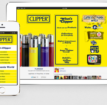 The Official site of Clipper. A UI / UX, Web Design, and Web Development project by Iván Salzman         - 20.06.2011