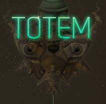 Space Totems. Un proyecto de Dirección de arte, Diseño de personajes e Ilustración de Óscar Lloréns - Martes, 23 de septiembre de 2014 00:00:00 +0200