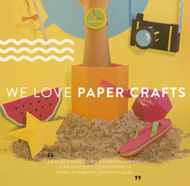 We love Paper Crafts :). A Design, Advertising, Photograph, 3D, Art Direction, Crafts, Fine Art, Graphic Design, and Product Design project by Lucia Perales         - 23.09.2014