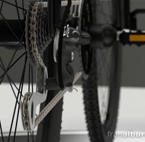 MTB Bike // Bicicleta de montaña. A Advertising, Motion Graphics, 3D, and Product Design project by Fran Alburquerque         - 24.03.2013