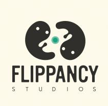 Flippancy Studios Logo. A Illustration, Graphic Design, T, and pograph project by Marta García Pérez         - 28.09.2014