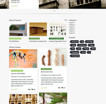 Diseño de Web responsive en Wordpress. A Design, Marketing, and Web Design project by Noe Rivas  - 29-09-2014