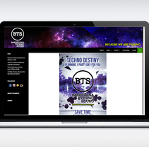 WEB BTS. A Graphic Design, and Web Design project by odi bazó - Oct 01 2014 12:00 AM