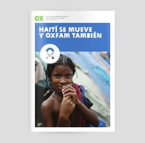 OX, La revista de Oxfam. Un proyecto de Diseño editorial y Diseño gráfico de The Bold  Strategic Design Studio  - 06-10-2014