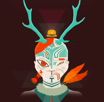 Forest King. A Illustration project by Gabriel Suchowolski - 07-10-2012