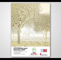 Campaña de prevención de Incendios. Un proyecto de Publicidad y Dirección de arte de German Villamarín Pulido - 16-10-2009