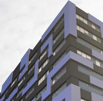 3D Proyecto modificación fachada. Un proyecto de 3D, Arquitectura y Arquitectura de la información de Sergio Fernández Moreno         - 18.10.2014