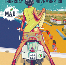 MAD Pizza . A Art Direction, Graphic Design&Illustration project by Juan Arias Benito - Oct 21 2014 12:00 AM