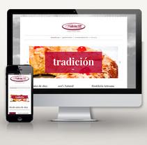 Web: Pastelería Tradición 1892. A Design, Graphic Design, Web Design, and Web Development project by Miguel Pande         - 21.10.2014
