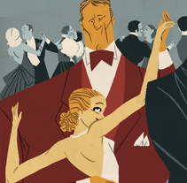 Ilustrando El Joven Rico, de F. Scott Fitzgerald. Un proyecto de Ilustración de José Luis Ágreda - Viernes, 24 de octubre de 2014 00:00:00 +0200