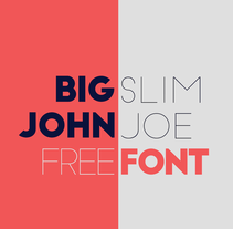Big John / Slim Joe - Gratis. A Motion Graphics, Graphic Design, T, and pograph project by Ion Lucin - 30-09-2014