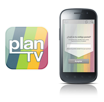 Plan Tv App. A Graphic Design project by joannabv - Oct 30 2014 12:00 AM