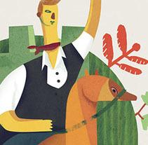 Propuesta de Cartel para Segorbe. A Illustration, and Advertising project by LOCANDIA Estudio  - Nov 09 2014 12:00 AM