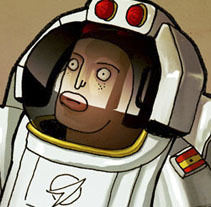 Man on Mars. Un proyecto de Ilustración de LOCANDIA Estudio  - 08-11-2014