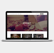 Gondola Restaurante Web. A Web Design project by allende lopez - Nov 10 2014 12:00 AM