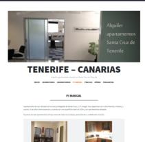 apartamentos - Tenerife. A Photograph, and Web Design project by María Díaz-Llanos Lecuona         - 19.11.2014