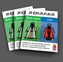 Moros y cristianos . Un proyecto de Ilustración y Diseño editorial de Roberto Díaz Gálvez         - 24.11.2014