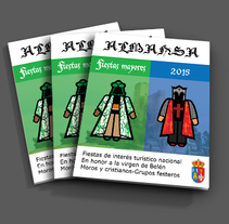 Moros y cristianos . A Illustration, and Editorial Design project by Roberto Díaz Gálvez         - 24.11.2014