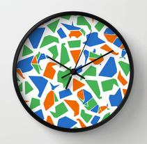 Un Mosaico lleno de objetos . Un proyecto de Diseño, Diseño de producto, Diseño gráfico e Ilustración de Bevero  - Miércoles, 26 de noviembre de 2014 00:00:00 +0100
