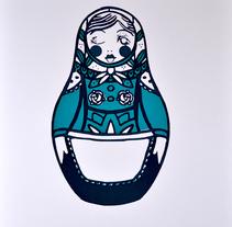 Matrioshka. Un proyecto de Ilustración y Serigrafía de Ainara Santiago Langarika         - 26.11.2014