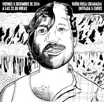 Cartelería para el Osombroso y Sonriente Folk de las Badlands. A Illustration project by El Ciento Almacenes          - 26.11.2014