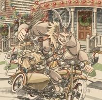 Return of the Yule Lord . Un proyecto de Ilustración de Fernando Cano Zapata         - 04.12.2014
